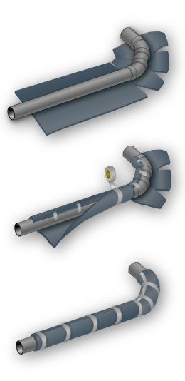 Insonorizzazione isolamento acustico apparecchiature tubazioni for Isolamento per tubi di riscaldamento in rame
